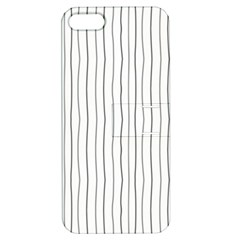Hand drawn lines pattern Apple iPhone 5 Hardshell Case with Stand