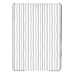Hand drawn lines pattern iPad Air Hardshell Cases