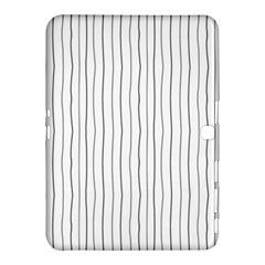 Hand drawn lines pattern Samsung Galaxy Tab 4 (10.1 ) Hardshell Case