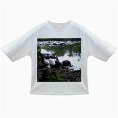 Treeing Walker Coonhound In Water Infant/Toddler T-Shirts