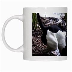 Treeing Walker Coonhound In Water White Mugs