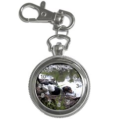 Treeing Walker Coonhound In Water Key Chain Watches