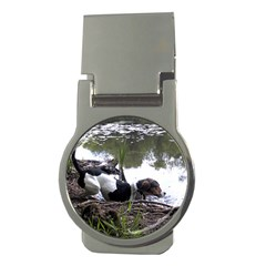 Treeing Walker Coonhound In Water Money Clips (Round)