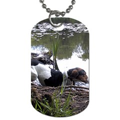 Treeing Walker Coonhound In Water Dog Tag (One Side)
