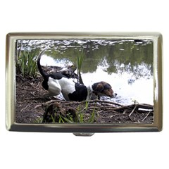 Treeing Walker Coonhound In Water Cigarette Money Cases