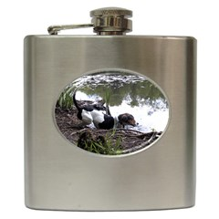 Treeing Walker Coonhound In Water Hip Flask (6 oz)