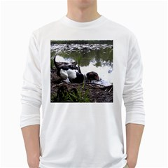 Treeing Walker Coonhound In Water White Long Sleeve T-Shirts