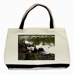 Treeing Walker Coonhound In Water Basic Tote Bag