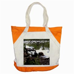 Treeing Walker Coonhound In Water Accent Tote Bag