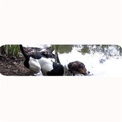 Treeing Walker Coonhound In Water Large Bar Mats