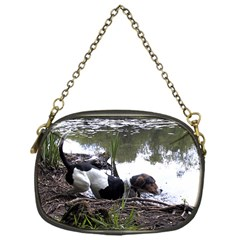 Treeing Walker Coonhound In Water Chain Purses (One Side)