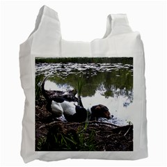 Treeing Walker Coonhound In Water Recycle Bag (One Side)