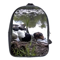 Treeing Walker Coonhound In Water School Bags(Large)