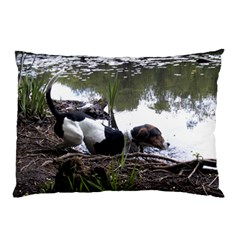 Treeing Walker Coonhound In Water Pillow Case (Two Sides)