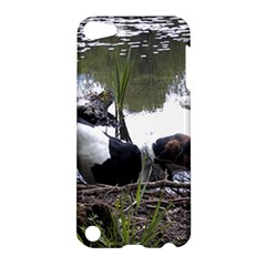Treeing Walker Coonhound In Water Apple iPod Touch 5 Hardshell Case