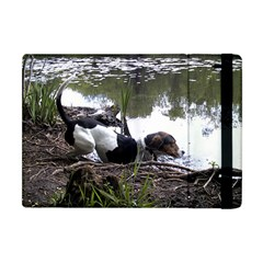 Treeing Walker Coonhound In Water Apple iPad Mini Flip Case