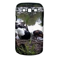 Treeing Walker Coonhound In Water Samsung Galaxy S III Classic Hardshell Case (PC+Silicone)