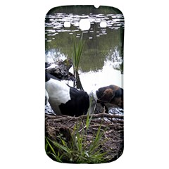 Treeing Walker Coonhound In Water Samsung Galaxy S3 S III Classic Hardshell Back Case