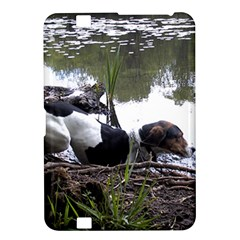 Treeing Walker Coonhound In Water Kindle Fire HD 8.9