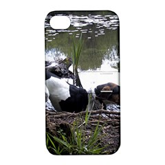Treeing Walker Coonhound In Water Apple iPhone 4/4S Hardshell Case with Stand