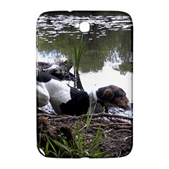 Treeing Walker Coonhound In Water Samsung Galaxy Note 8.0 N5100 Hardshell Case