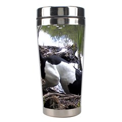 Treeing Walker Coonhound In Water Stainless Steel Travel Tumblers