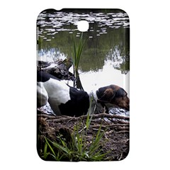 Treeing Walker Coonhound In Water Samsung Galaxy Tab 3 (7 ) P3200 Hardshell Case