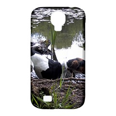 Treeing Walker Coonhound In Water Samsung Galaxy S4 Classic Hardshell Case (PC+Silicone)