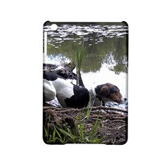 Treeing Walker Coonhound In Water iPad Mini 2 Hardshell Cases