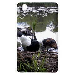 Treeing Walker Coonhound In Water Samsung Galaxy Tab Pro 8.4 Hardshell Case