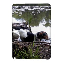 Treeing Walker Coonhound In Water Samsung Galaxy Tab Pro 12.2 Hardshell Case
