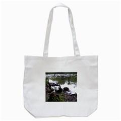 Treeing Walker Coonhound In Water Tote Bag (White)