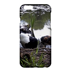 Treeing Walker Coonhound In Water Apple iPhone 6 Plus/6S Plus Hardshell Case