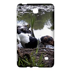 Treeing Walker Coonhound In Water Samsung Galaxy Tab 4 (7 ) Hardshell Case