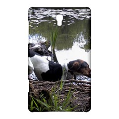 Treeing Walker Coonhound In Water Samsung Galaxy Tab S (8.4 ) Hardshell Case