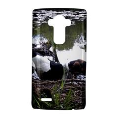 Treeing Walker Coonhound In Water LG G4 Hardshell Case