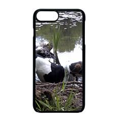 Treeing Walker Coonhound In Water Apple iPhone 7 Plus Seamless Case (Black)