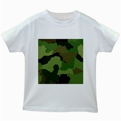 A Completely Seamless Tile Able Background Design Pattern Kids White T Shirts