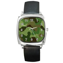 A Completely Seamless Tile Able Background Design Pattern Square Metal Watch
