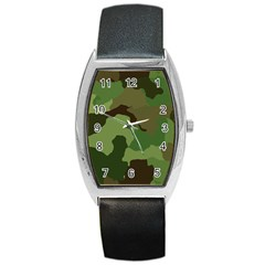 A Completely Seamless Tile Able Background Design Pattern Barrel Style Metal Watch