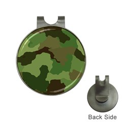 A Completely Seamless Tile Able Background Design Pattern Hat Clips with Golf Markers