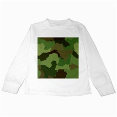 A Completely Seamless Tile Able Background Design Pattern Kids Long Sleeve T Shirts