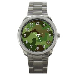 A Completely Seamless Tile Able Background Design Pattern Sport Metal Watch