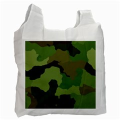 A Completely Seamless Tile Able Background Design Pattern Recycle Bag (One Side)