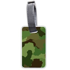 A Completely Seamless Tile Able Background Design Pattern Luggage Tags (two Sides)