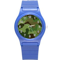 A Completely Seamless Tile Able Background Design Pattern Round Plastic Sport Watch (s)