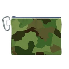 A Completely Seamless Tile Able Background Design Pattern Canvas Cosmetic Bag (l)