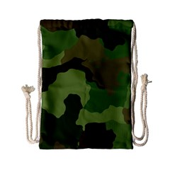 A Completely Seamless Tile Able Background Design Pattern Drawstring Bag (Small)