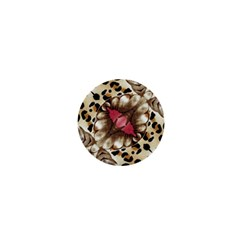 Animal Tissue And Flowers 1  Mini Buttons