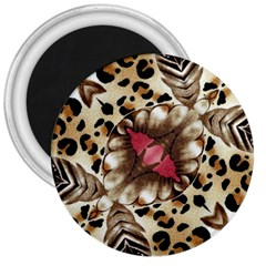Animal Tissue And Flowers 3  Magnets